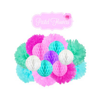Flower Party Decoration - 15 pc Hanging Decoration - $39.00