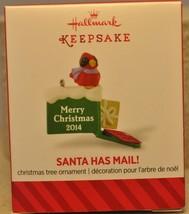 Hallmark - Santa Has Mail! - Bird on Mailbox w/ Cards - 2014 - Keepsake ... - $8.61