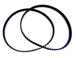 """2 New Replacement Belts for 126XL037 Timing 63 Teeth Cogged Rubber 12.6""""... - $8.90"""