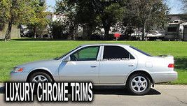 Toyota Camry Stainless Steel Chrome Pillar Posts by Luxury Trims 1997-20... - $69.80