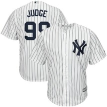 Aaron Judge New York Yankees Majestic Home Pinstripe Cool Base Jersey Me... - $109.99