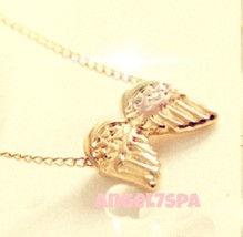 PROTECT ME FROM EVIL  SPELLBOUND   ANGEL WINGS NECKLACE - $22.39