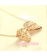 PROTECT ME FROM EVIL  SPELLBOUND   ANGEL WINGS NECKLACE - $19.49
