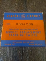GE General Electric Motor 939A208 Service Replacement Starting Switch - $89.05