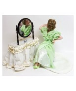 Danbury Mint Porcelain Dolls, Norman Rockwell Cover Girl Collection, Goi... - $79.99