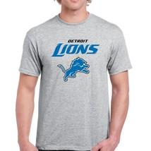 00119 FOOTBALL American football Detroit Lions Mens T-Shirt - $14.99+
