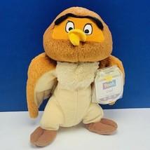 Winnie the Pooh Owl vintage plush stuffed animal star bean bag mattel di... - $16.35