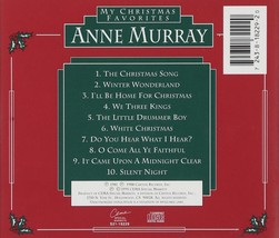 MY CHRISTMAS FAVORITES by Anne Murray image 2