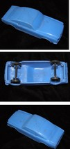 Soft Plastic Blue Car Gay Toys Inc. Vintage Toy Mustang 1960s - $19.99