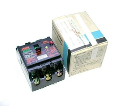 New Fuji Electric  EG33F  3-Pole Circuit Breaker 30 Amp 400 VAC - $29.99