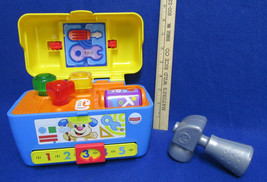 Fisher Price Tool Box Laugh & Learn Smart Stages Toddler Preschool Toy - $12.86