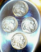 1913, 1915,  1916, and 1916 D Buffalo Nickel AA20BN-CN6074 image 1