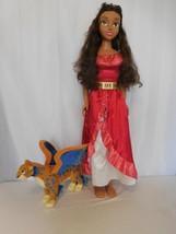 Disney Elena of Avalor My Size Doll 3 FooT   +  Elena of Avalor Talking Skylar - $73.02