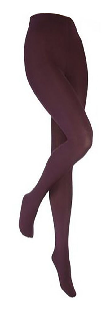 Heat Holders - Womens Thick Winter Warm Fleece Lined Opaque Color Thermal Tights