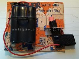1950s vintage TANKER WATER GUN palmer plastics TOY squirt mid century retro - $124.95