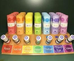 Aura Cacia Organic Pure Essential Oils Chakra Balancing Aromatherapy Rol... - $13.80+