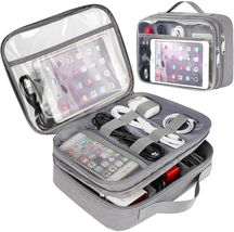 Clear Electronics Organizer, Matein Travel Cable Organizer Bag Large Cor... - $32.95