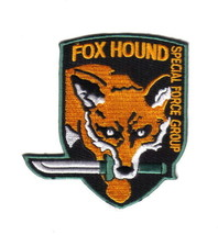Metal Gear Fox Hound Special Forces Original Logo Patch, NEW UNUSED - $7.84