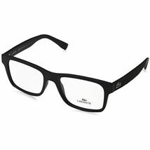 New Lacoste L2793 001 Matte Black Eyeglasses 55mm With Lacoste Case - $118.75