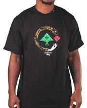 L-R-G LRG Cold Blooded Snake Tree logo Black or White T-Shirt NWT image 2