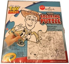 """Disney Toy Story 3 Jumbo Coloring Floor Puzzle 33x26"""" Large Party Game C... - ₨1,027.21 INR"""