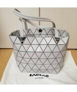 ISSEY MIYAKE Baobao Tote bag ICE GRAY new unused - $820.99