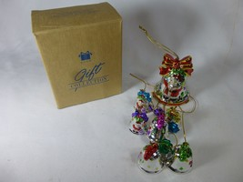 Avon Shimmering Bell Christmas Ornament with Chimes Gift Collection NEW in Box - $7.91