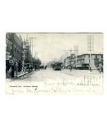 Atlantic Avenue Undivided Postcard Atlantic City New Jersey 1902 Horses ... - $17.80