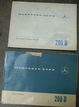 Mercedes-Benz 200D Original Owner's Manual & Supplement - $24.00