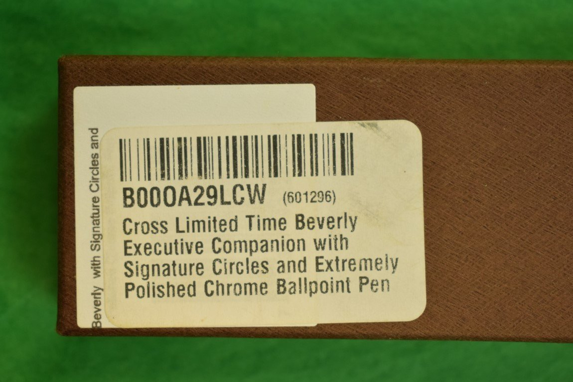 'Cross Pen' (NwB!)