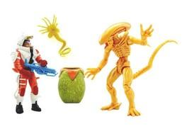 NEW SEALED Alien Xenomorph Swarm Warrior vs Scientist Action Figure Set Walmart - $29.69