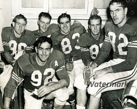 1955 CFL Montreal Alouettes  Dressing Room Abbruzzi Sam Etcheverry 8 X 1... - $5.99