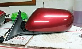 98-03 Jaguar XJ8 Left Driver Side Door Mirror W/ Memory OEM Carnival Red - $64.35