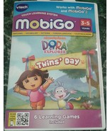 Dora the explorer Twins Day MobiGo game cartridge NEW MobiGo 2 - $7.00