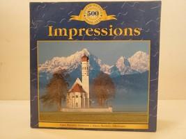 "Sure-Lox Impressions Alps, Bavaria, Germany 500 Piece Jigsaw Puzzle 19"" ... - $9.49"