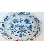 VTG BLUE DANUBE blue onion China Individual Pasta Bowl Serving Platter - $69.29