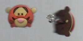 Earrings - Tigger Winnie the Pooh Posts - Homemade - Disney - Hypoallergenic. - $6.36