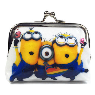 So Cute! Despicable Me Cute Children's Coin Purse— More Fun Character Coin Purse