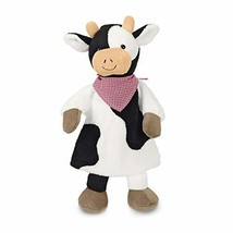 Sterntaler 3601842 Hand Puppet Cow, Multicoloured