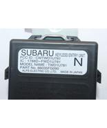 2011-2014 SUBARU WRX IMPREZA KEYLESS ENTRY UNIT K946 - $27.33