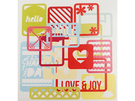 SEI Basics Die-Cut Overlays for Scrapbooks, Journals, Cards and More image 2