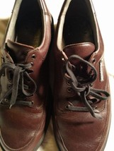 Mephisto Traveler's Air Jet System Brown Leather France Walking Shoes  S... - $74.24