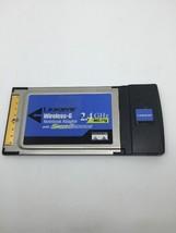 Cisco Linksys WPC54GS Ver 2 Wireless G Card Notebook Laptop Adapter  A6