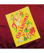 Oklahoma Litho Theatre Guild Souvenir Book 1945 Broadway Vintage Musical  - $12.86