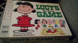 COMPLETE, Peanuts LUCY'S TEA PARTY Board Game 1971 - $45.00