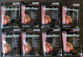 Exp 12/2021* (8) Packets Shakeology Strawberry Protein Powder Beachbody  - $45.53