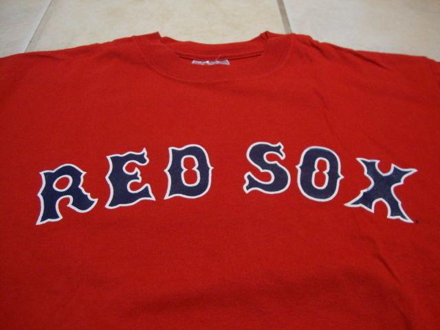 d673fa200 57. 57. Previous. MLB Boston Red Sox Major League Baseball Fan Kevin  Youkilis  20 Red T Shirt L