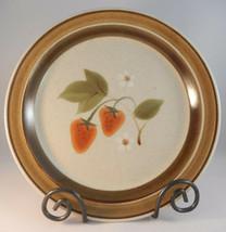 Premiere Wild Strawberry Dinner Plate Potterskraft Cottagecore P6002 - $14.36