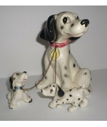 Vintage Lipper & Mann Leashed Dog Figurine 101 Dalmatians? Pongo & Lucky... - $25.00