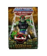 Masters of the Universe Classics Snake Face Figure He-Man - $49.50